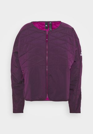PADDED - Sports jacket - berry