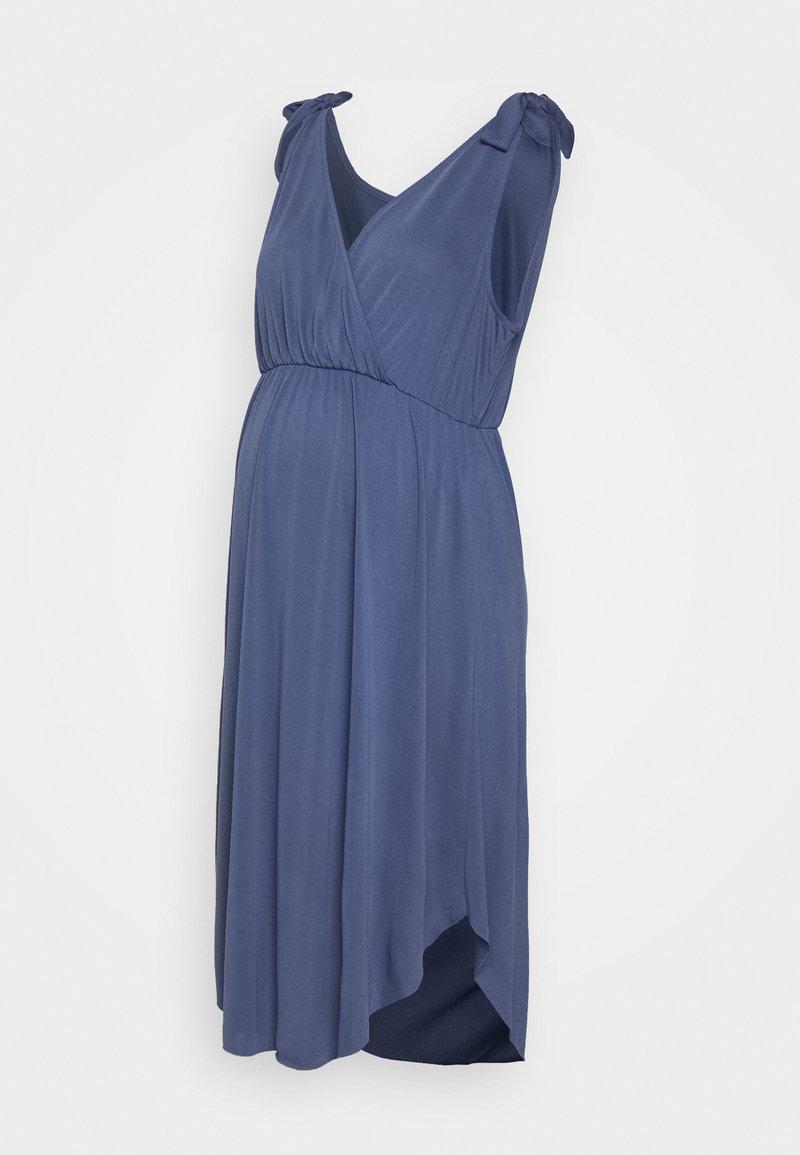 MAMALICIOUS - MLSKYLAR TESS  DRESS - Vestido ligero - blue indigo