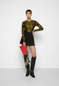Versace Jeans Couture - Maglietta a manica lunga - nero - 1