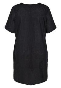 Zizzi - Jersey dress - black - 6