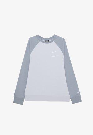 CREW - Sweatshirt - football grey/obsidian mist/white
