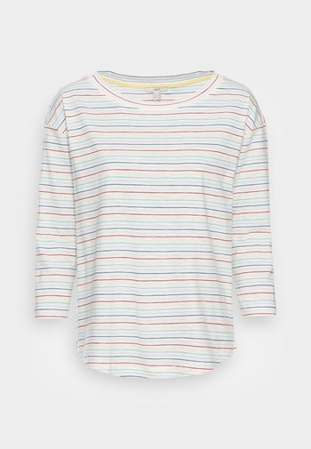 MULTISTRIPE - Long sleeved top - off white