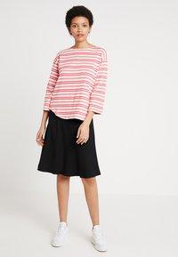 Mads Nørgaard - STELLY - A-line skirt - black - 1