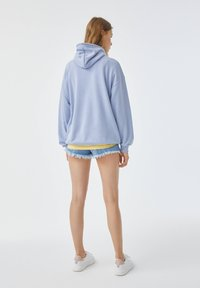 PULL&BEAR - Sweat à capuche - blue - 2