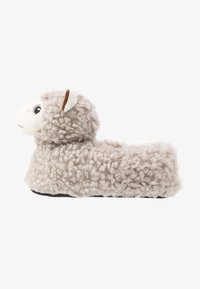 South Beach - LLAMA SLIPPERS - Pantoffels - grey - 1