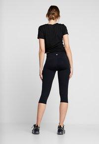 Cotton On Body - ACTIVE CORE CAPRI - 3/4 sports trousers - black - 2