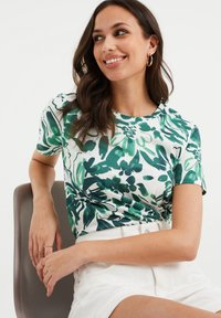 WE Fashion - Print T-shirt - white - 4