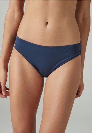 HIGH LEG - Bikini bottoms - dark blue