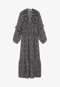 Violeta by Mango - FLOWER - Maxi dress - schwarz - 4