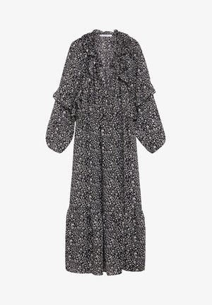 FLOWER - Maxi dress - schwarz