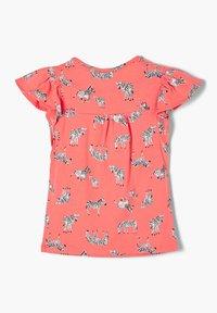 s.Oliver - Print T-shirt - coral aop - 1