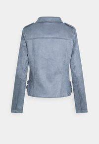 Marks & Spencer London - Faux leather jacket - blue - 1