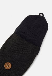 Barts - PUPPETEER BUMGLOVES - Gloves - dark heather - 2
