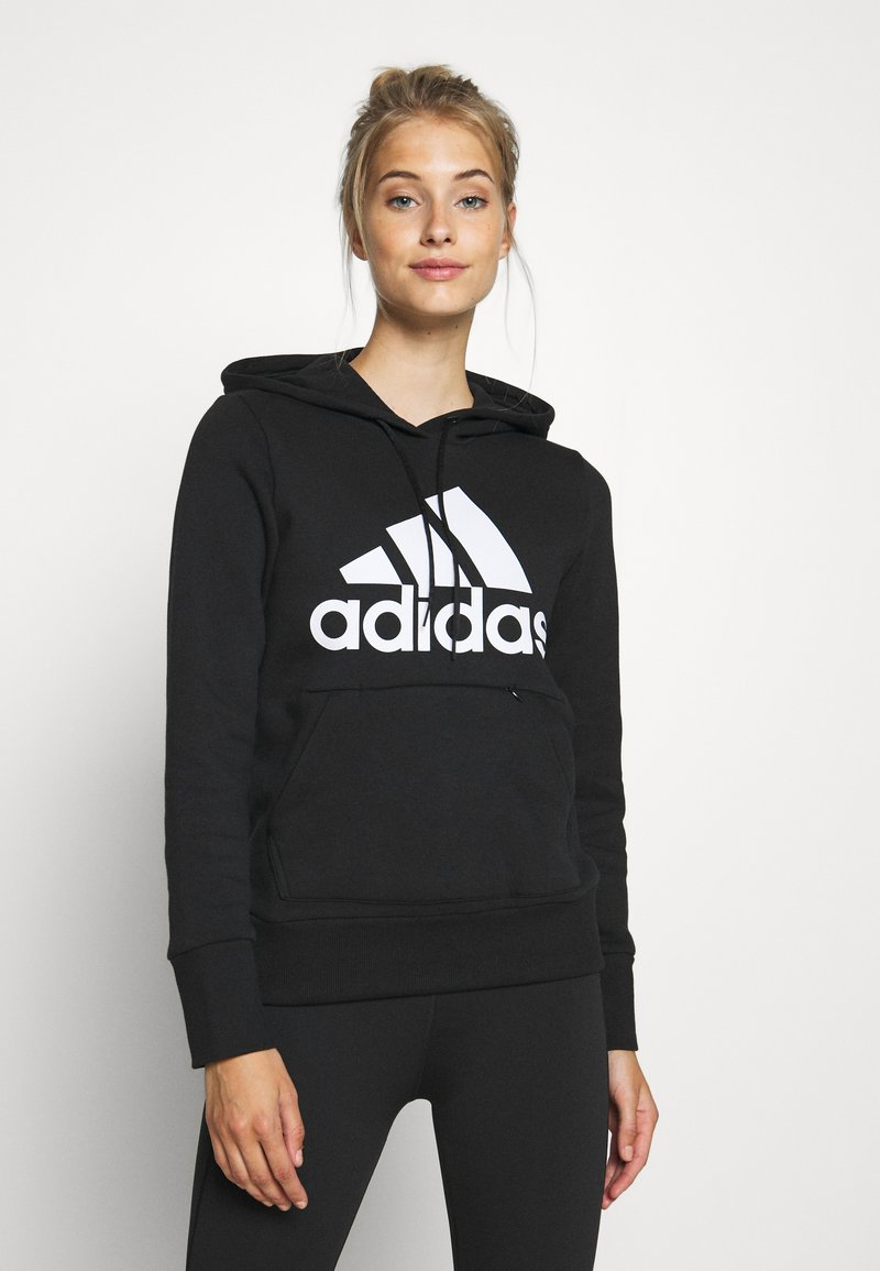 adidas Performance - Hoodie - black