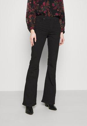 JAMIE - Široké džíny - black