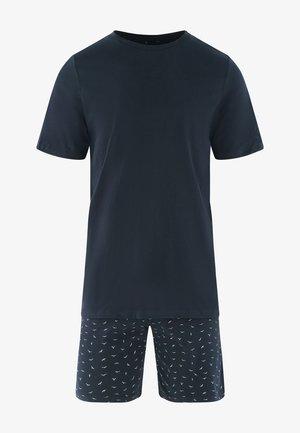 SEIDENSTICKER KURZER - Pyjama set - nachtblau