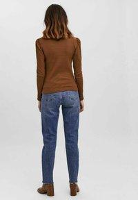 Vero Moda - NATASHA  - Long sleeved top - brown - 2