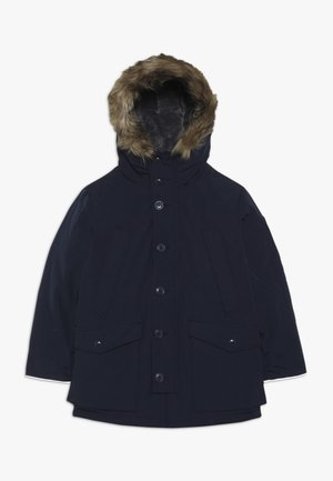 BOY WARMEST PARKA - Abrigo de plumas - tapestry navy