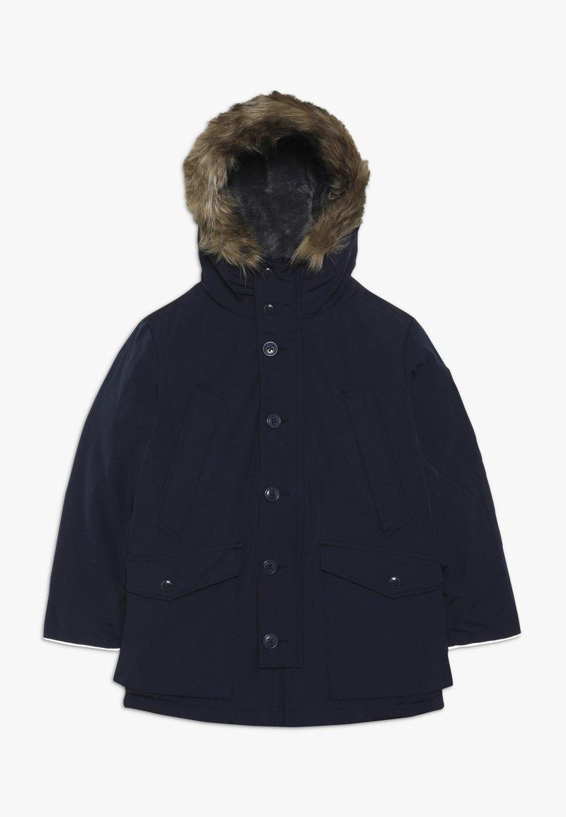 GAP - BOY WARMEST PARKA - Kabát zprachového peří - tapestry navy