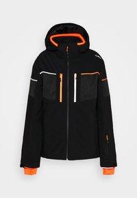 MAN JACKET ZIP HOOD - Ski jacket - nero