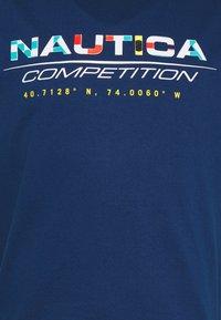 NAUTICA COMPETITION - BOLLARD - Print T-shirt - navy - 2