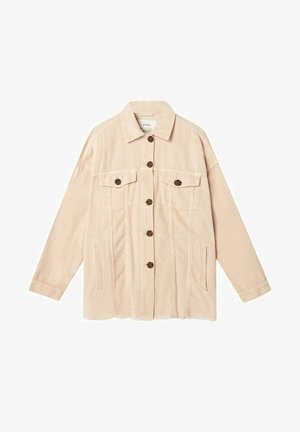 HEMD AUS CORD - Short coat - light brown