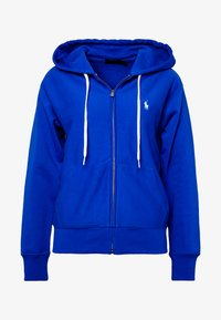 Polo Ralph Lauren - ZIP LONG SLEEVE - Zip-up hoodie - heritage blue - 5