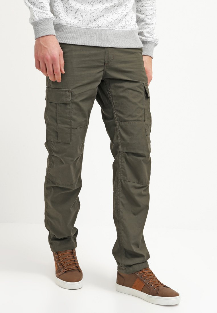 Carhartt WIP - AVIATION PANT COLUMBIA - Pantalones cargo - cypress rinsed
