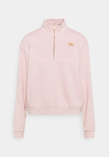 FEMME - Sweatshirt - pink oxford/metallic gold