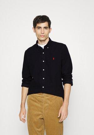 LONG SLEEVE SPORT SHIRT - Shirt - black