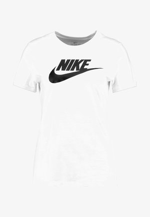 TEE ICON FUTURA - Print T-shirt - white/black