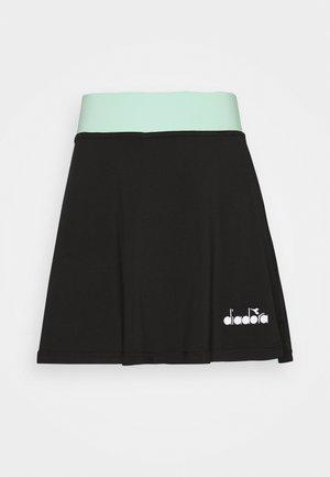 EASY TENNIS - Falda de deporte - black
