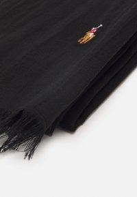 Polo Ralph Lauren - WASHED - Sjaal - black - 1