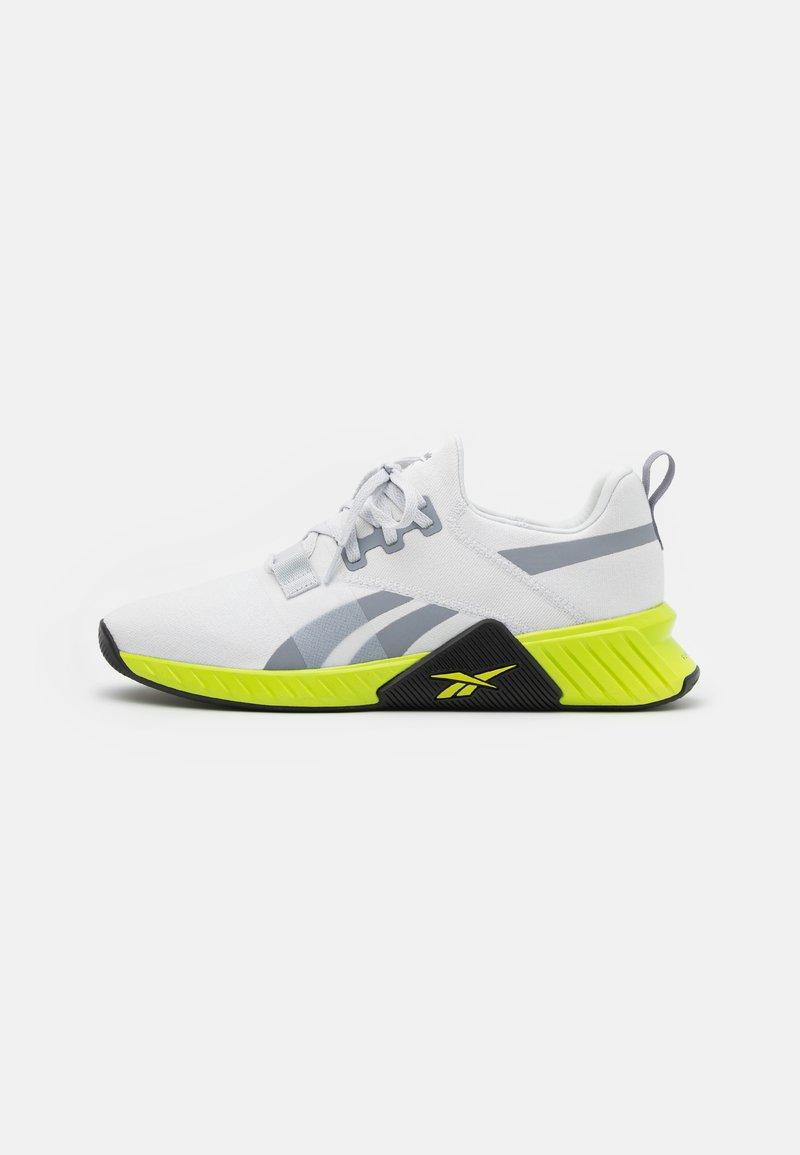 Reebok - FLASHFILM TRAIN 2.0 UNISEX - Sports shoes - cold grey/acid yellow