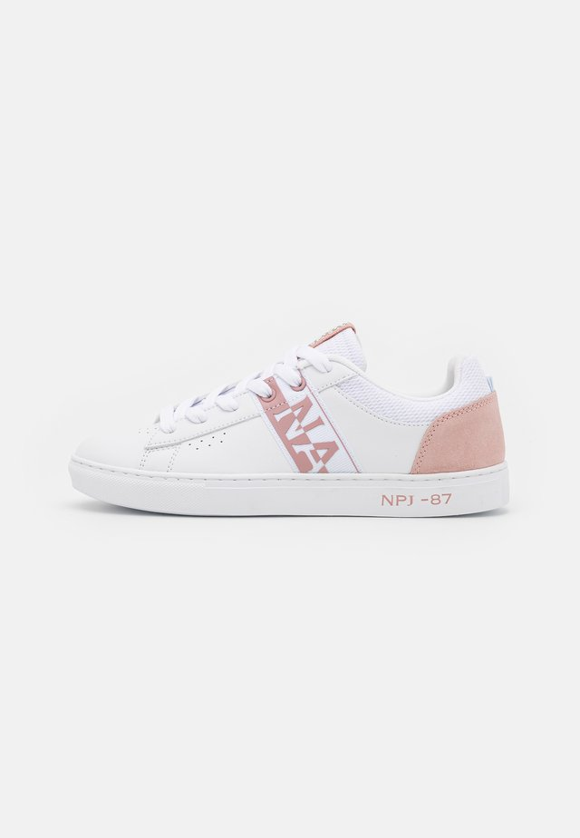 WILLOW - Tenisky - white/pink