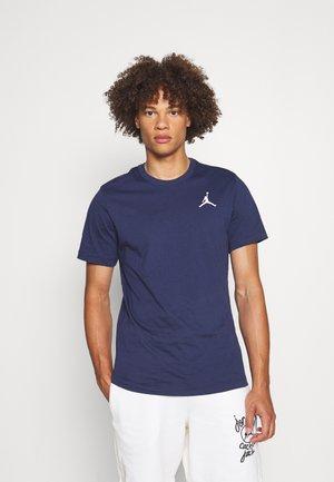 JUMPMAN CREW - T-shirt basic - midnight navy/white