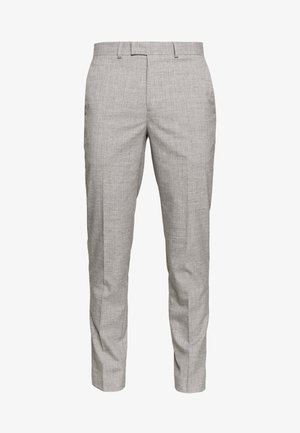 STRIPE - Suit trousers - grey