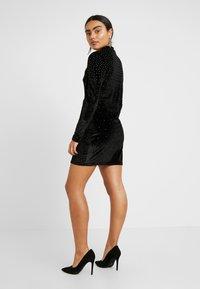 Fashion Union Petite - ROWLER - Shift dress - black - 2