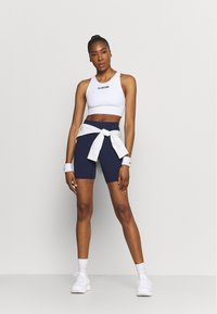 Under Armour - MERIDIAN BIKE SHORTS - Leggings - midnight navy - 1