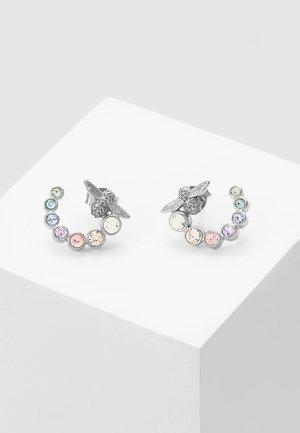 RAINBOW BEE - Korvakorut - silver-coloured