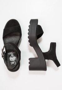 Coolway - LANA - Platform sandals - black - 3