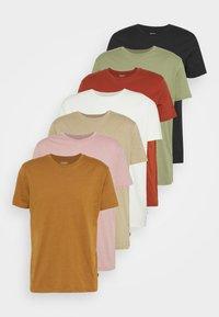 Burton Menswear London - 7 PACK - T-shirt - bas - multi - 11