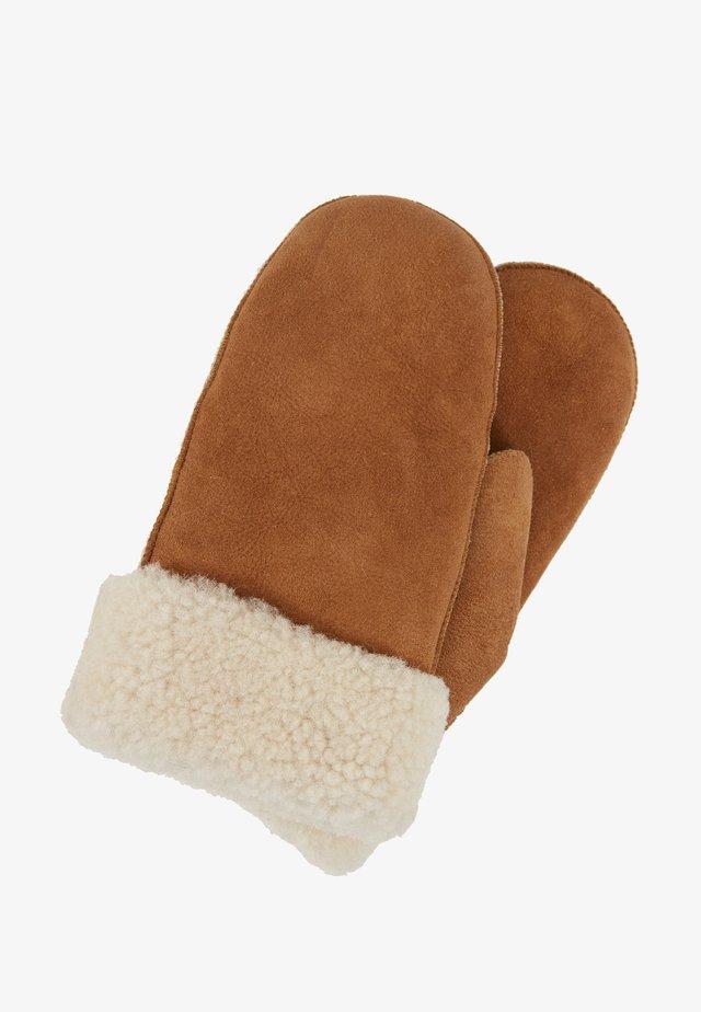 DOA MITTENS - Rękawiczki z jednym palcem - brown sugar