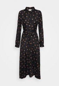 Kaffe - OLINE DRESS - Košilové šaty - black - 1