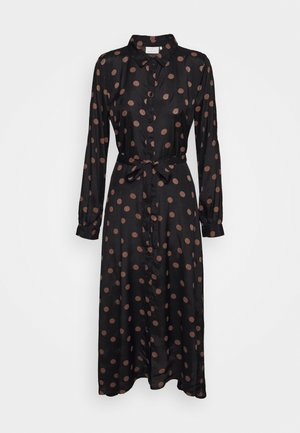 OLINE DRESS - Robe chemise - black