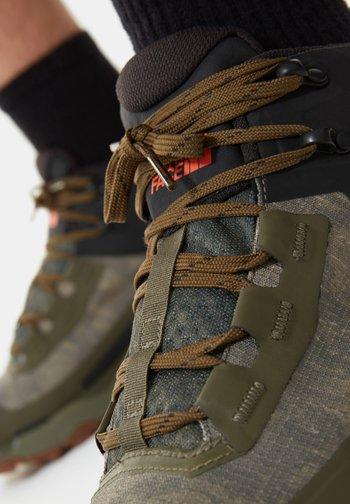 M VECTIV EXPLORIS MID FUTURELIGHT - Hiking shoes - mtryolvcldcmwshprnt/tnfbk