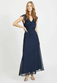 Vila - Maxi dress - navy blazer - 1