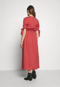Glamorous Bloom - DRESS - Denní šaty - faded red - 2