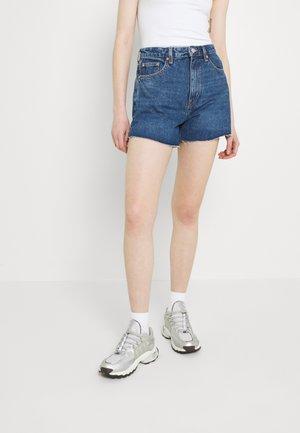 EARLY - Denim shorts - sea blue