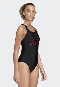 adidas Performance - ATHLY V LOGO SWIMSUIT - Swimsuit - black - 4